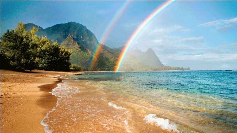 """O - L'archipel d'Hawaï, État des États-Unis, est situé en """"Océanie""""."""