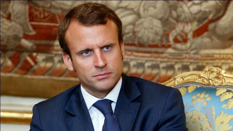 Quel est le prénom du président français ?