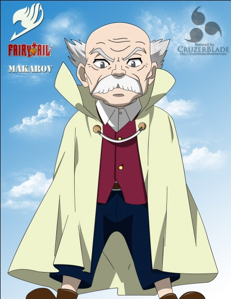 """Quel est le nom du chef de """"Fairy Tail"""" ?"""