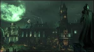 Comment s'appelle l'asile de Gotham City ?