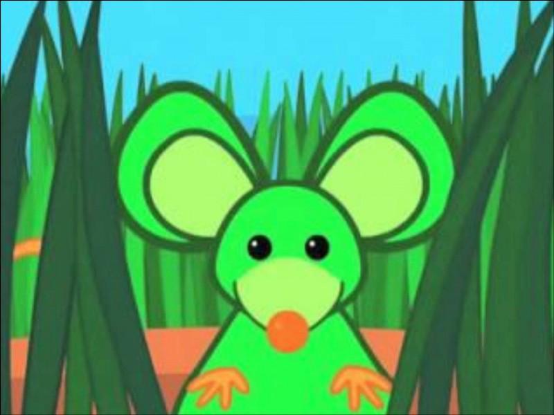 """Complétez : """"Une souris verte, qui courait dans ... """"."""