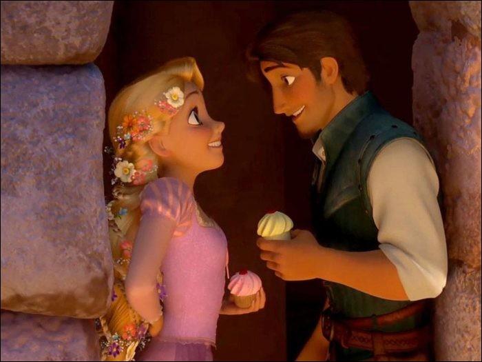 Cupcakes de Saint-Valentin.