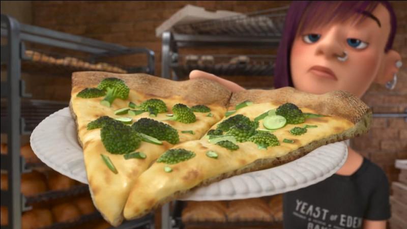 Pizza au brocolis... hein, quoi ?