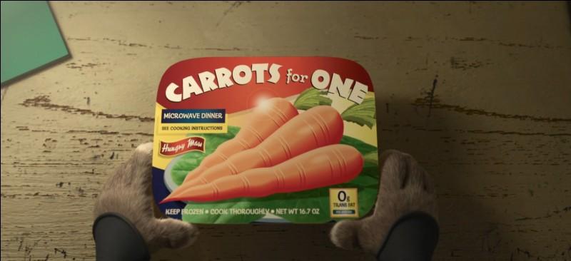 Des carottes pour une personne !