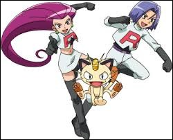 Parlons du dessin animé. Quel Pokémon n'a jamais été possédé, ni utilisé par Jessie ou James ?