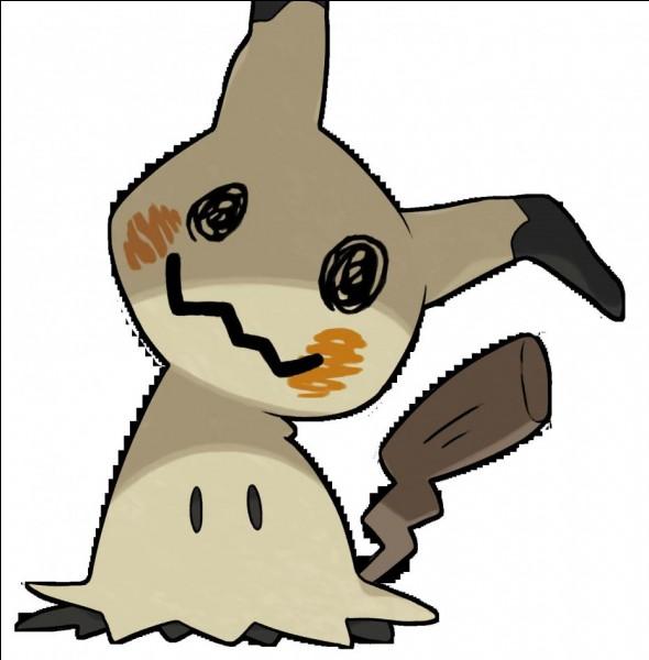 Voici mon Pokémon favori, Mimiqui. Mais quel est son numéro ?