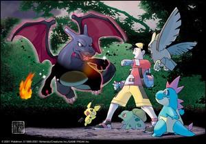 Quel Pokémon chromatique ne possède pas de bleu ?
