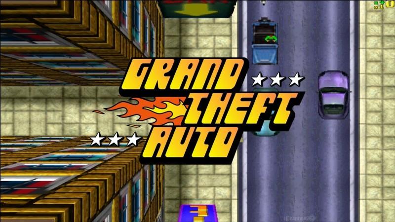 En quelle année est sorti le tout premier GTA ?