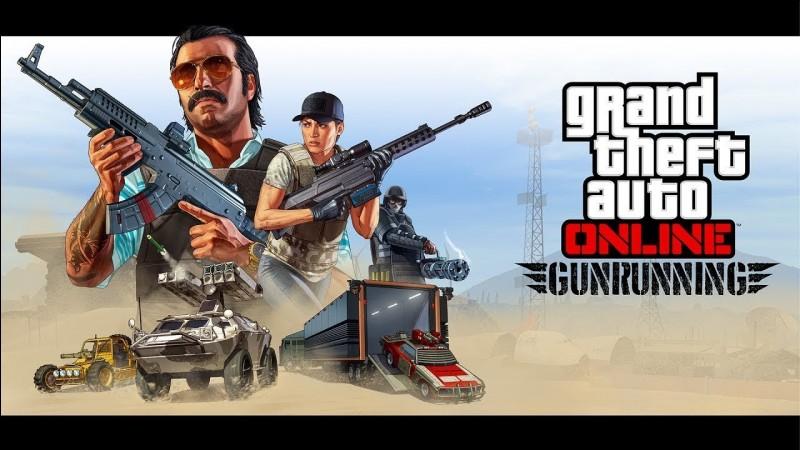 Quand est sorti le DLC Gunrunning sur GTA 5 ?