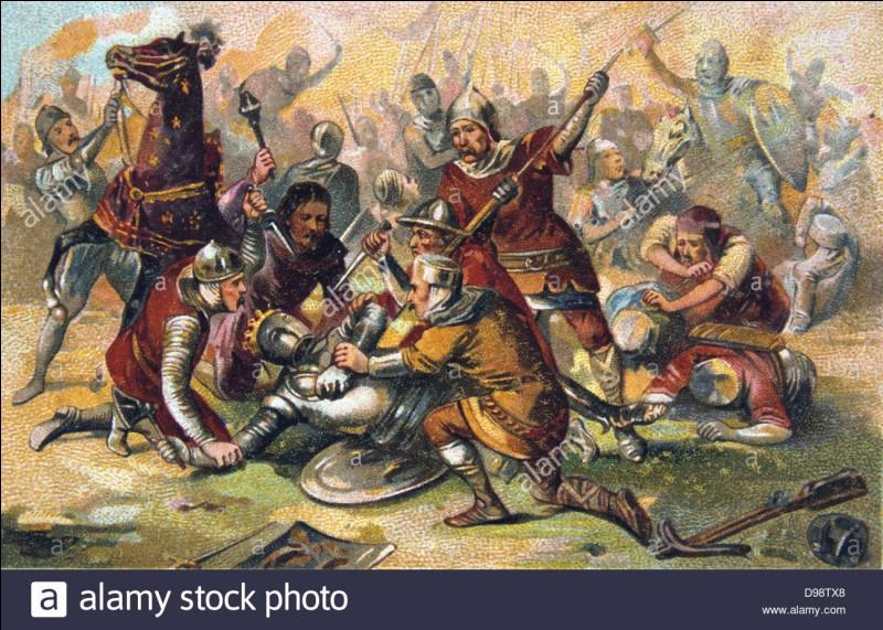 """Malgré ma fragilité nerveuse, j'acquiers le surnom de """"Conquérant"""" après avoir quadruplé la surface du domaine royal et repoussé les Anglais et les Allemands à Bouvines en 1214. Dans un souci de faciliter l'administration, je crée le corps des sénéchaux, chargés de rendre la justice et de surveiller les seigneurs du royaume, parfois coupables d'abus sur leurs sujets. Je suis..."""