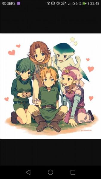 La relation amoureuse la plus démontrée dans ce jeu est celle entre Link et :