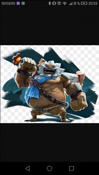 Comment se nomme le pouvoir de Daruk, le Goron ?