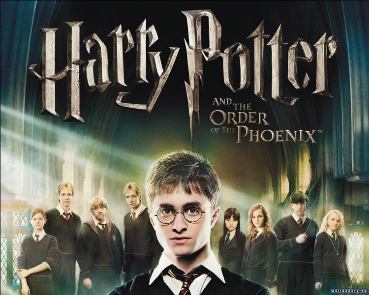 Qui Harry Potter rencontre-t-il lors de sa rentrée en 5e année à Poudlard ?