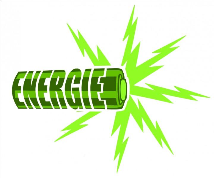 Quelle est la formule de l'énergie ?