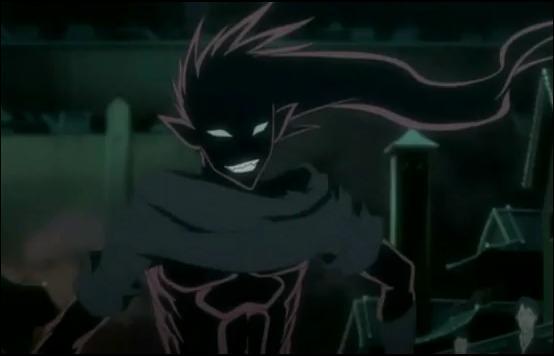 Il a le caractère complètement opposé de son shinigami, ce dernier est beaucoup moins 'expressif' que son zanpakuto(sauf quand il s'agit de la lieutenant de la dixième division) :