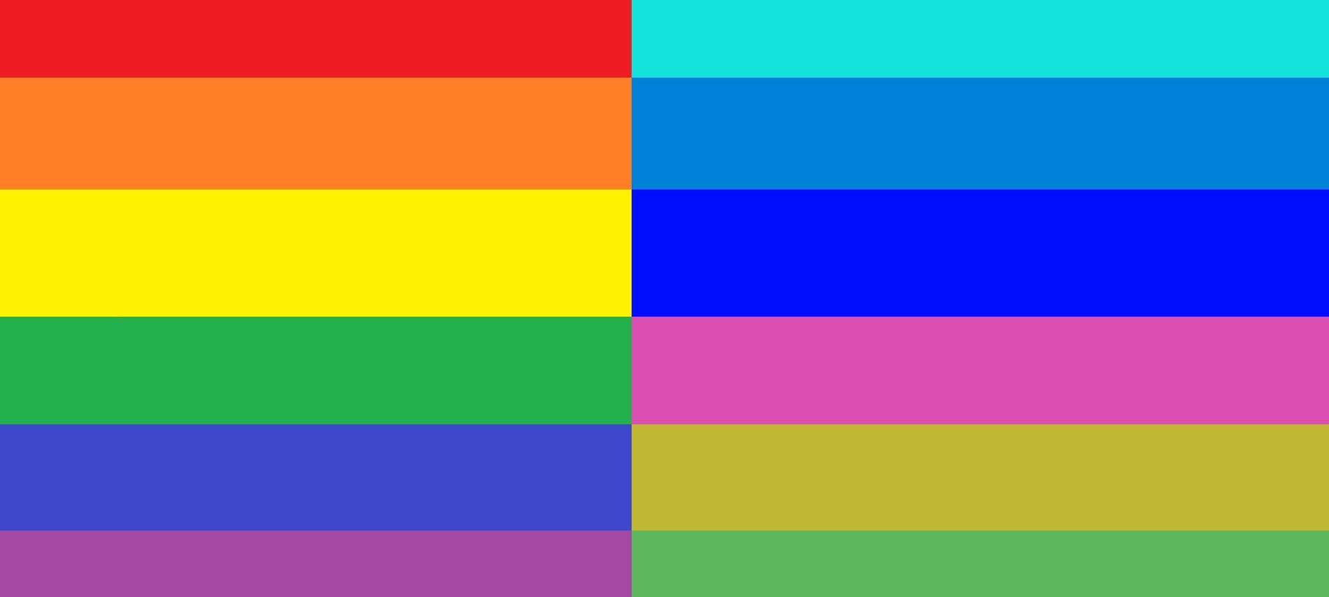 Des couleurs et des images négatives