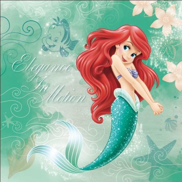 Ariel est la seule princesse Disney qui ne soit pas humaine !