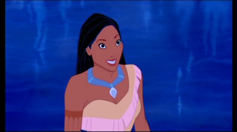 Pocahontas est la seule princesse Disney tatouée !