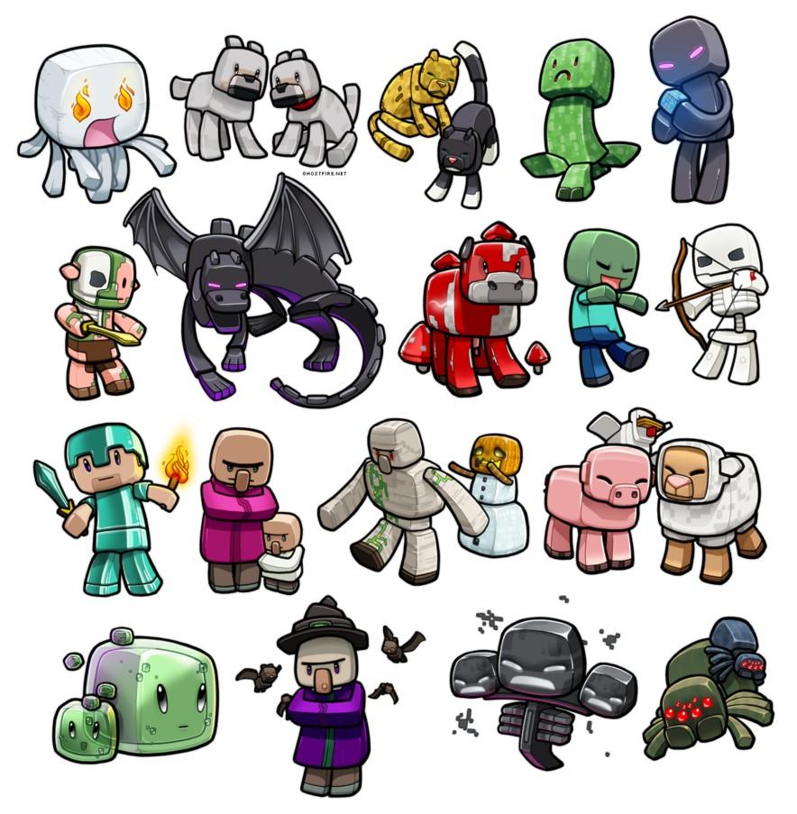 Quel mob Minecraft es-tu ? (2)