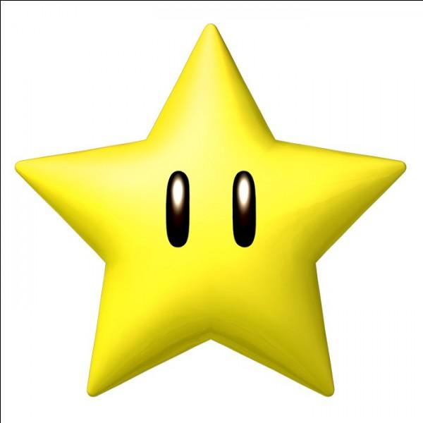 Jeu vidéo - Que se passe-t-il si Mario attrape une étoile ?