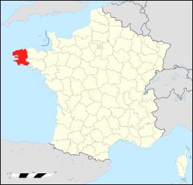 Géographie toujours - Quel est le numéro de département du Finistère ?