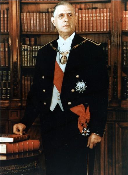 Qui fut le premier président de la 5e République française ?