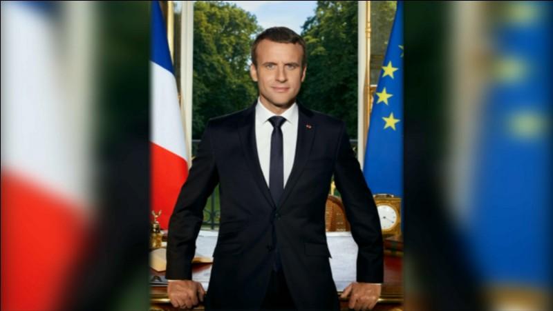 Qui a un mandat de président de la France de 2017 à 2022 ?