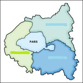 Comment appelle-t-on la zone constituée des trois départements limitrophes de la ville de Paris ?