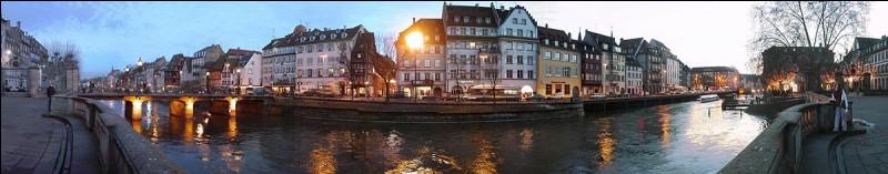 Quelle ville est la préfecture du Bas-Rhin ?