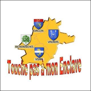 Le Vaucluse possède une partie entièrement enclavée dans la Drôme. Quel est son nom ?