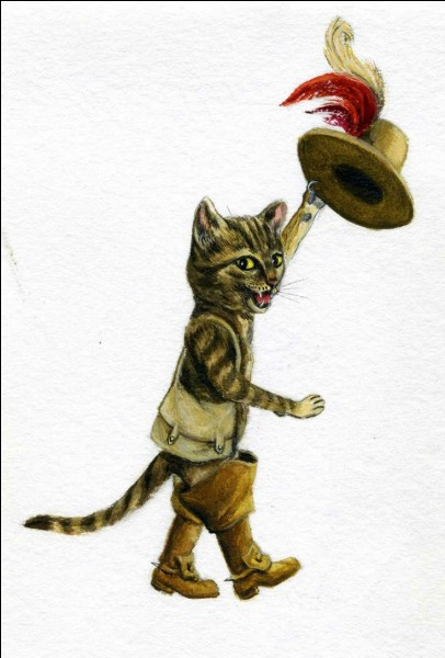"""En quelle année le roman de Charles Perrault, """"Le Chat botté"""" a-t-il été publié ?"""