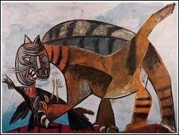 """Qui a peint """"Chat dévorant un oiseau"""" ?"""