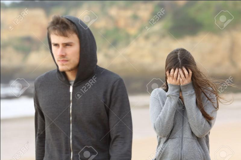 Ton petit ami ou ta petite amie te quitte, comment réagis-tu ?