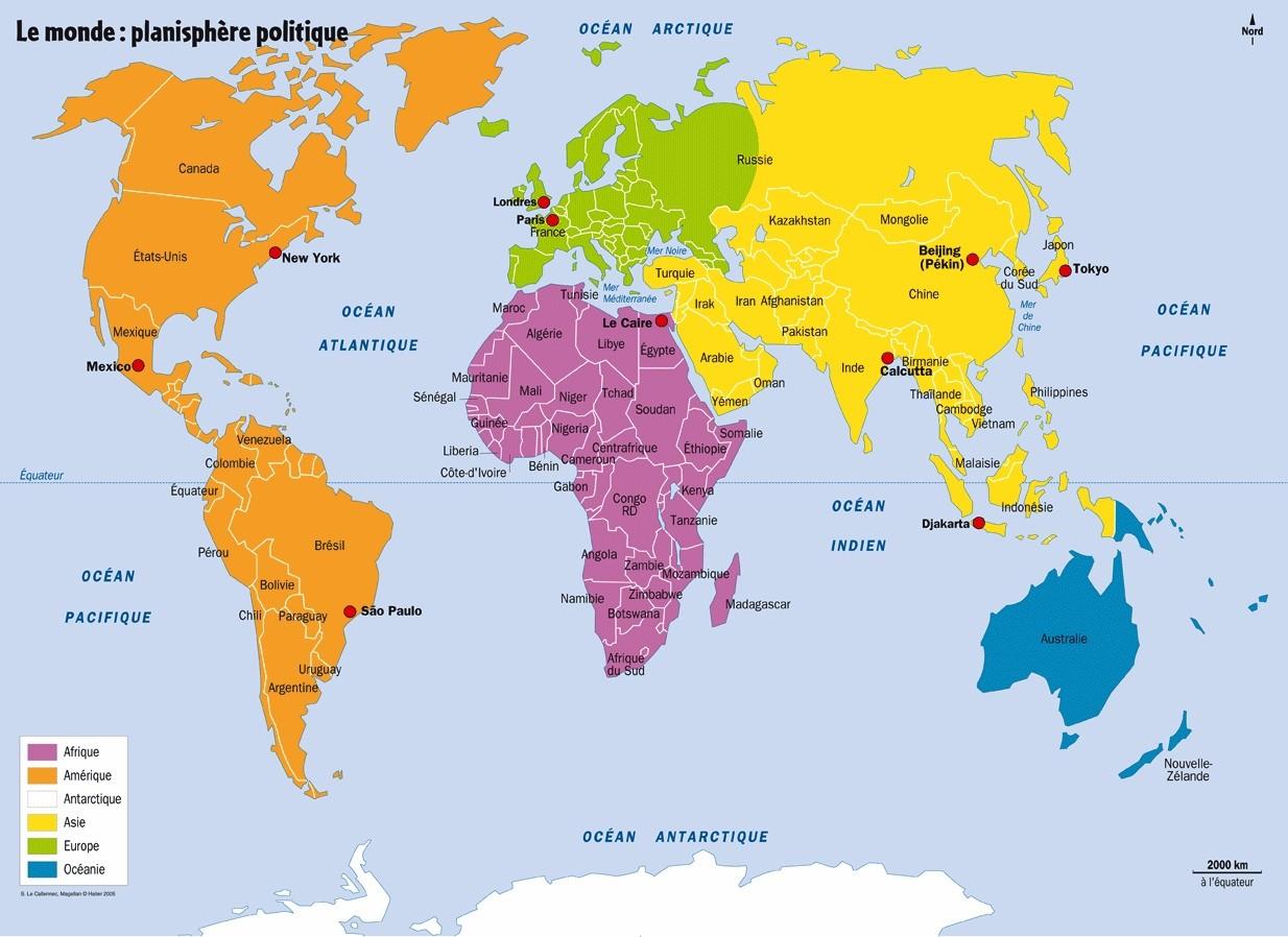 Des pays et des peuples