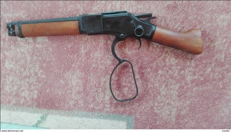 À qui appartient cette arme ?