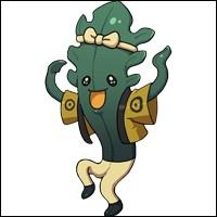 Wakapoeira est le leader du trio des algues.