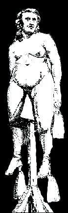 Méthode d'interrogatoire des inquisiteurs....des poids pouvaient être attachés aux extrémités de la victime.