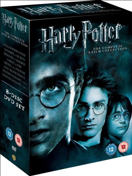 Combien de DVD de Harry Potter y a-t-il ?