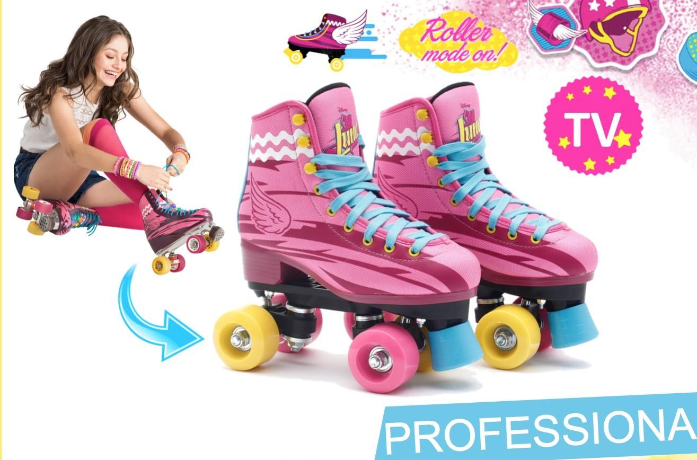 Lego People Roller Skates