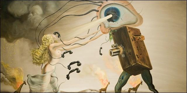 Qui est l'auteur de ce tableau, qui fut frappé par la maladie de Parkinson ?