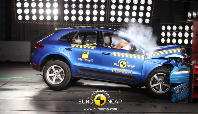 Combien d'étoiles a obtenues le Macan au crash test EuroNcap ?