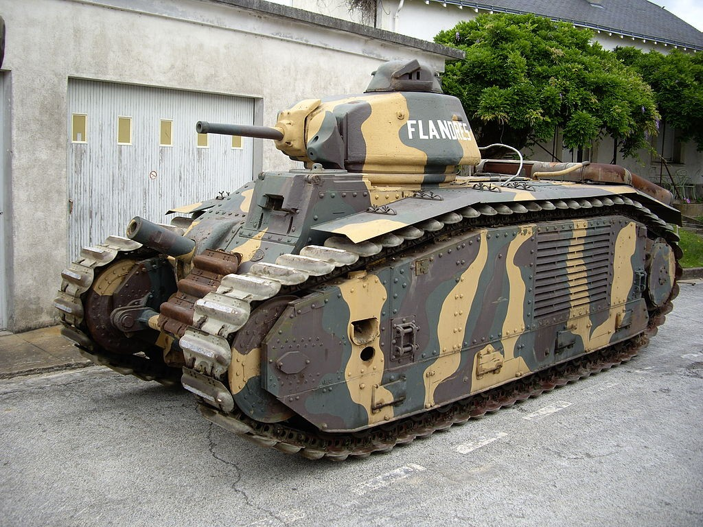 Les chars français dans la Seconde Guerre mondiale
