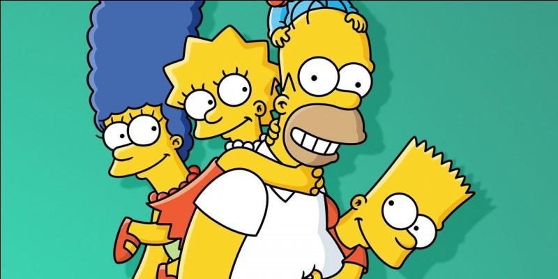 Les Simpson ont été créés en 1989.