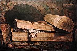 Dans la Rome antique, les vestales étaient enterrées vivantes en cas de relations sexuelles, un crime qualifié d'incestus...