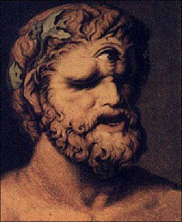 Dans la mythologie grecque, ils sont des géants dotés d'un seul oeil au milieu du front.
