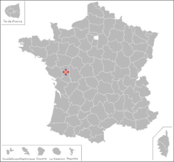Dans ce département vous pourrez visiter les communes de : Parthenay  et Sainte Verge
