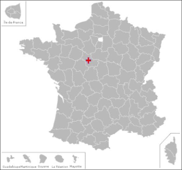 Dans ce département vous pourrez visiter les communes de :Bourré et  Veuves