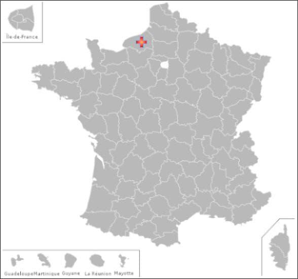Dans ce département vous pourrez visiter les communes de :  Louvetot et  Ricarville -