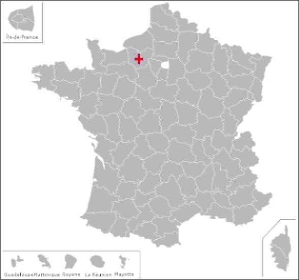 Dans ce département vous pourrez visiter les communes de :  Acon,  Mouettes  et  la vacherie