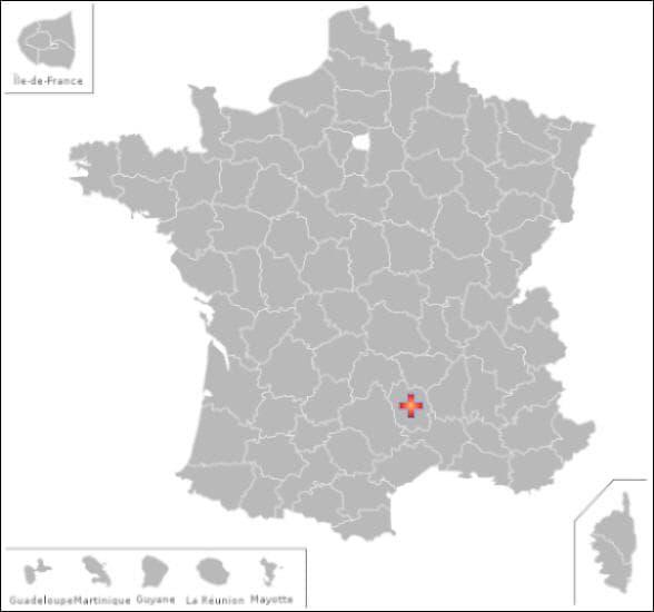 Dans ce département vous pourrez visiter les communes de :Chirac  et Pelouse
